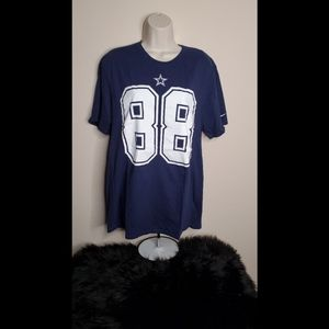 Nike Dallas Cowboys Dez Bryant 88 Athletic Cut Tee